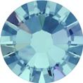 Hotfix steentje in Aquamarine AB. De glanzende versie in lichtblauwe kleur