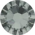 Hotfix steentje in Black Diamond kleur. Een donker grijze tint