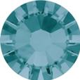 Hotfix steentje in Blue Zircon kleur. Een steen met rustige blauwe gloed.
