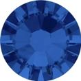 Hotfix steentje in Capri Blue kleur. Hoge blauwe glinsterfactor