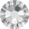 Hotfix steentje in Crystal kleur. Bijna kleurloze witte tint