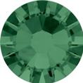 Hotfix steentje in Emerald kleur. Smaragdgroene edelsteenkleur