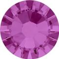 Hotfix steentje in Fuchsia kleur. Felle paars roze kleur
