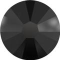 Hotfix steentje in Jet kleur. Een donkergrijze kleur