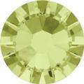 Hotfix steentje in Jonquil kleur. Een riet groene tint