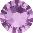 Hotfix steentje in Light Amethyst kleur. Zachter roze kleur, richting paars