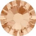 Hotfix steentje in de kleur Light Peach. Lichte perzik tint