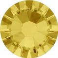 Hotfix steentje in de kleur Light Topaz. Een honingachtige geel tint