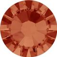 Hotfix steentje in Orange / Hyacinth kleur. Oranje achtig