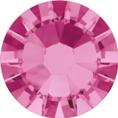 Hotfix steentje in de kleur Rose. De volledig roze kleur