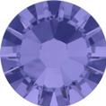 Hotfix steentje in de kleur tanzanite. Paars achtige kleur