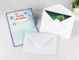 Diamond Painting Kerstkaarten - Set van 8 stuks met enveloppen