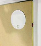 Diamond Painting met LED-verlichting - De Kerstman bij het haardvuur 40x50 cm (full)_