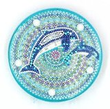 Diamond Painting Dolfijnen - Nachtlampje