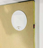 Diamond Painting met LED-verlichting - Verlicht herenhuis in de winter 30x40 cm (full)_