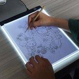 Daimond Painting Light Pad A4 formaat - Dimbaar (3 standen) met tekening