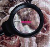 Diamond Painting - Loeplamp zwart met tafelklem - 3x vergroting_