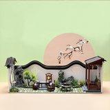Mini Dollhouse - Cute Room - Chinese Courtyard / binnenplaats (Deel B)_
