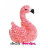 Diamond Painting  - 3D Lampje Roze Flamingo