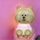 Diamond Painting  - 3D Lampje Gele Beer_