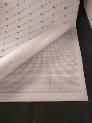 Diamond Painting blanco canvas doek voor ronde steentjes 25x25 cm