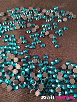Blue Zircon SS 20 Premium DMC kwaliteit Hotfix steentjes