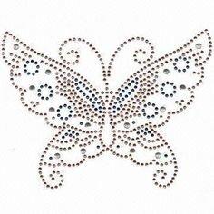 Hotfix Patroon - Vlinder met rondjes