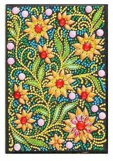 Diamond Painting Notitieboekje- Bloemen