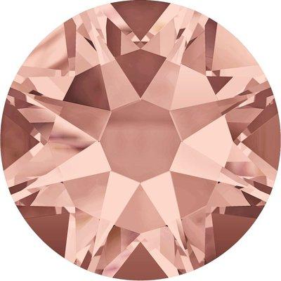 Swarovski non-hotfix steentjes kleur Blush Rose (257) SS5