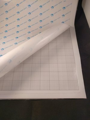 Diamond Painting blanco canvas doek voor ronde steentjes 40x40 cm