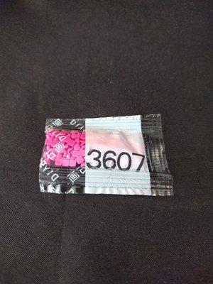 Diamond Painting - Losse vierkante steentjes kleurcode 3607