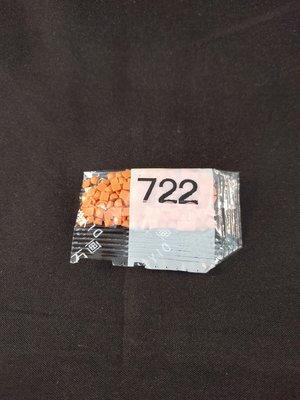 Diamond Painting - Losse vierkante steentjes kleurcode 722