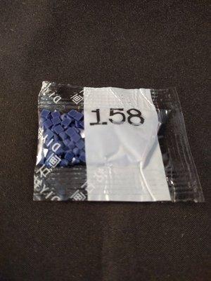 Diamond Painting - Losse vierkante steentjes kleurcode 158