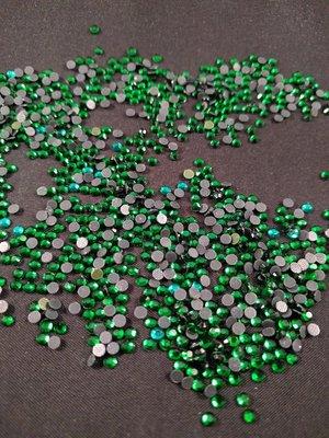 Hotfix steentjes Budget kwaliteit SS 10 Kleur Emerald