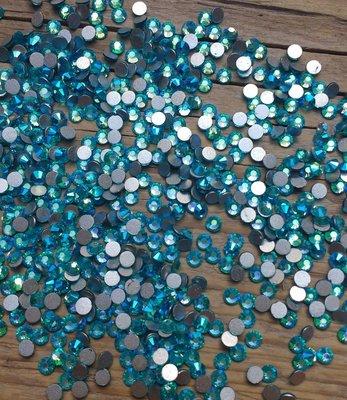 Aquamarine AB SS 10 Excellent Austrian kwaliteit non-hotfix plakstenen