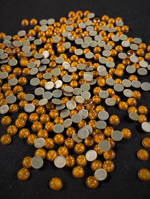 Hotfix Epoxy 4 mm Kleur Egaal Oranje