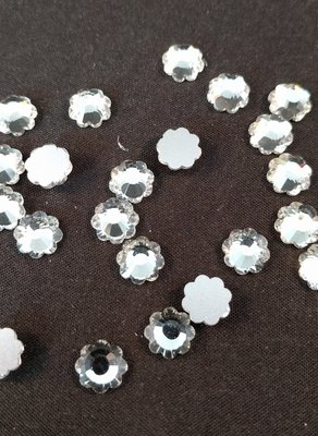 Non Hotfix steentjes Bloem SS 30 Kleur Crystal