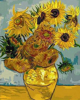 Diamond Painting pakket - Van Gogh Zonnebloemen 30x40 cm (full)