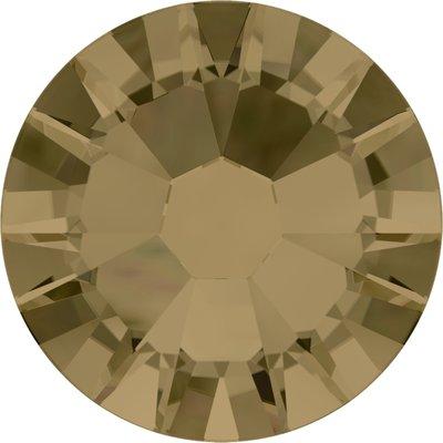 Swarovski hotfix steentjes kleur Crystal Bronze Shade (001BRSH) SS16