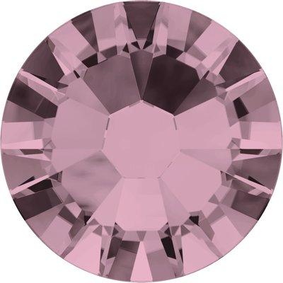 Swarovski hotfix steentjes kleur Crystal Antique Pink (001ANTP) SS12