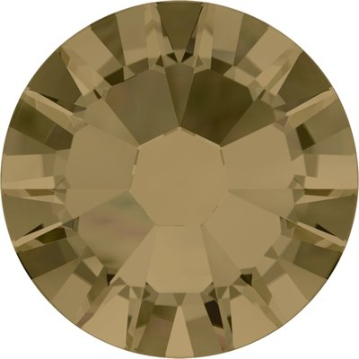 Swarovski hotfix steentjes kleur Crystal Bronze Shade (001BRSH) SS12