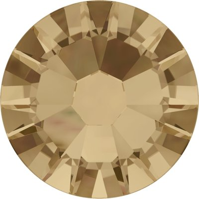 Swarovski non-hotfix steentjes kleur Crystal Golden Shadow (001GSHA) SS5