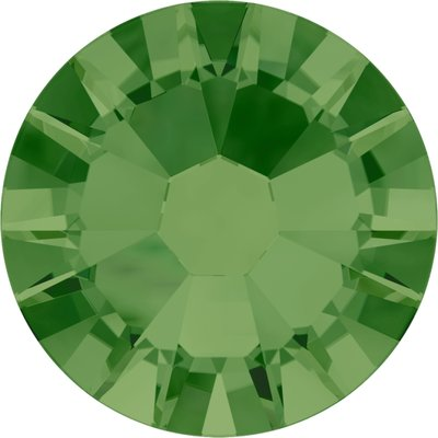 Swarovski non-hotfix steentjes kleur Fern Green (291) SS5