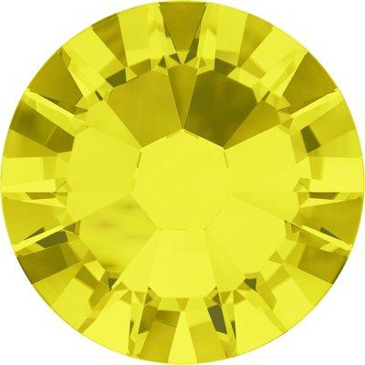 Swarovski hotfix steentjes kleur Citrine (249) SS12