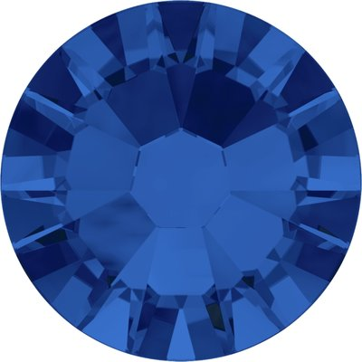 Swarovski hotfix steentjes kleur Capri Blue (243) SS34