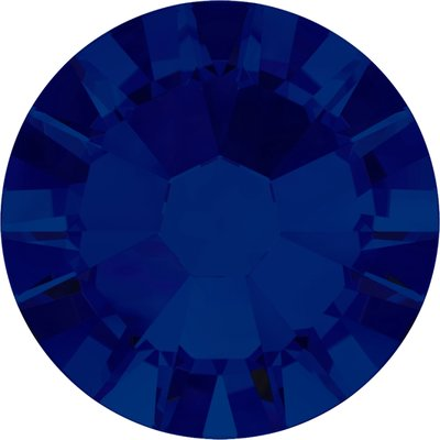 Swarovski hotfix steentjes kleur Cobalt (369) SS34