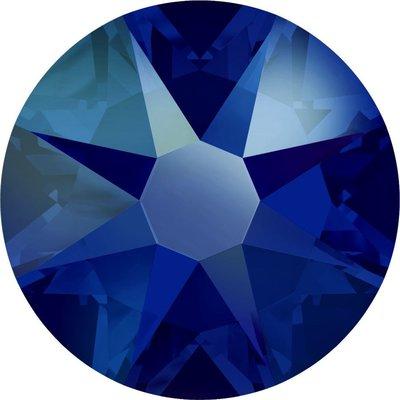 Swarovski hotfix steentjes kleur Cobalt Shimmer (369SHIM) SS34