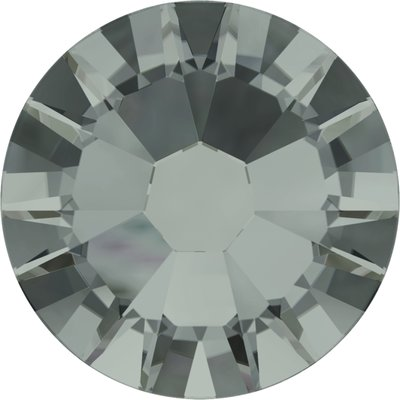 Swarovski non-hotfix steentjes kleur Black Diamond (215) SS6