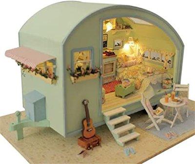 Mini Dollhouse - Caravan - Time Travel