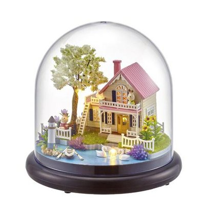 Mini Dollhouse - Together Around Globe - Spring Flowers